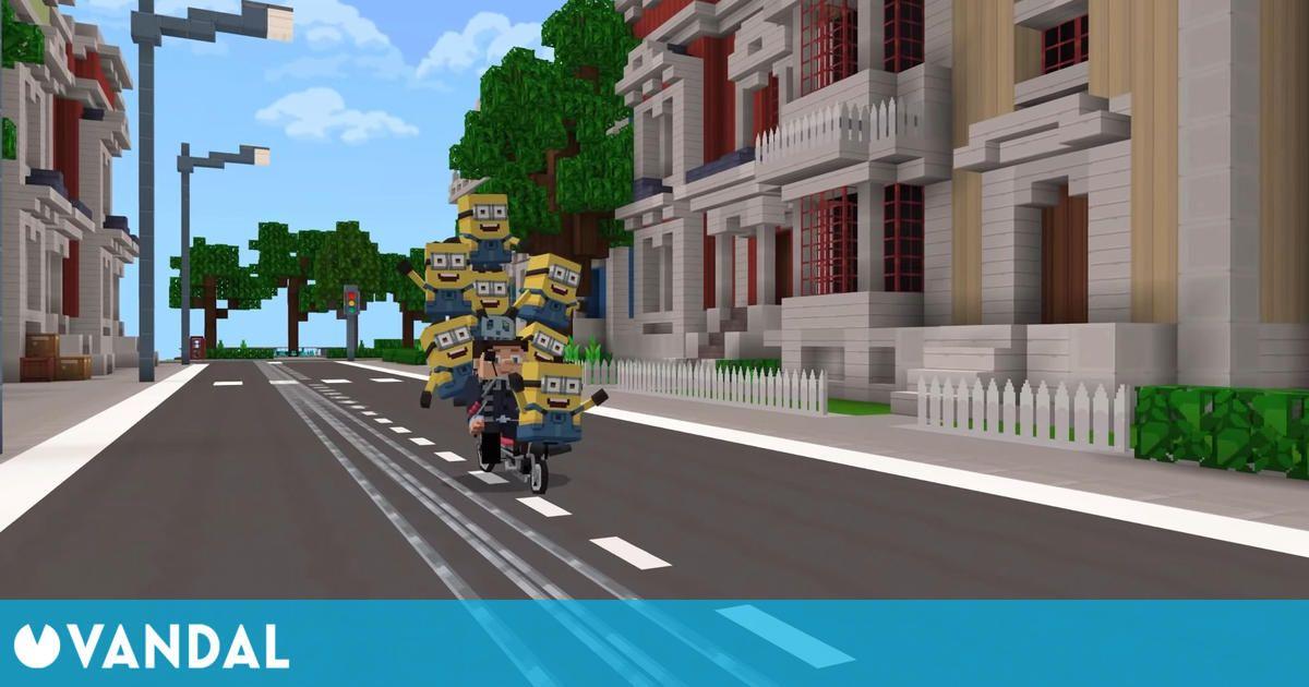 Los Minions llegan a Minecraft con un DLC con personajes de Minions: El origen de Gru