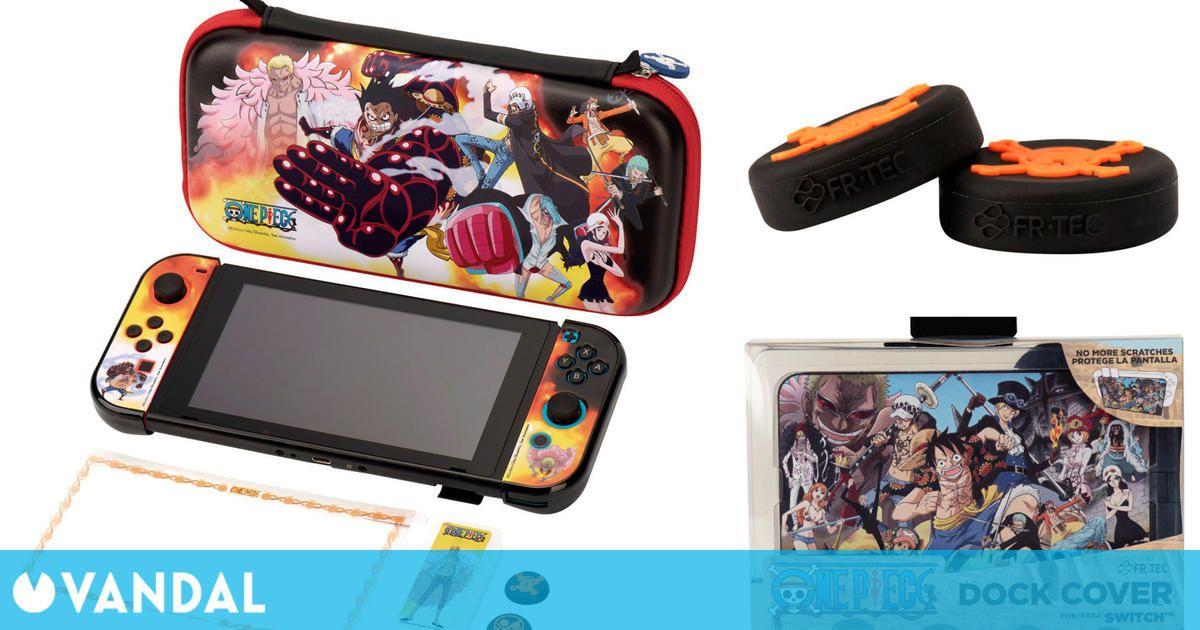 FR-TEC presenta sus accesorios oficiales de One Piece para Switch y PS4