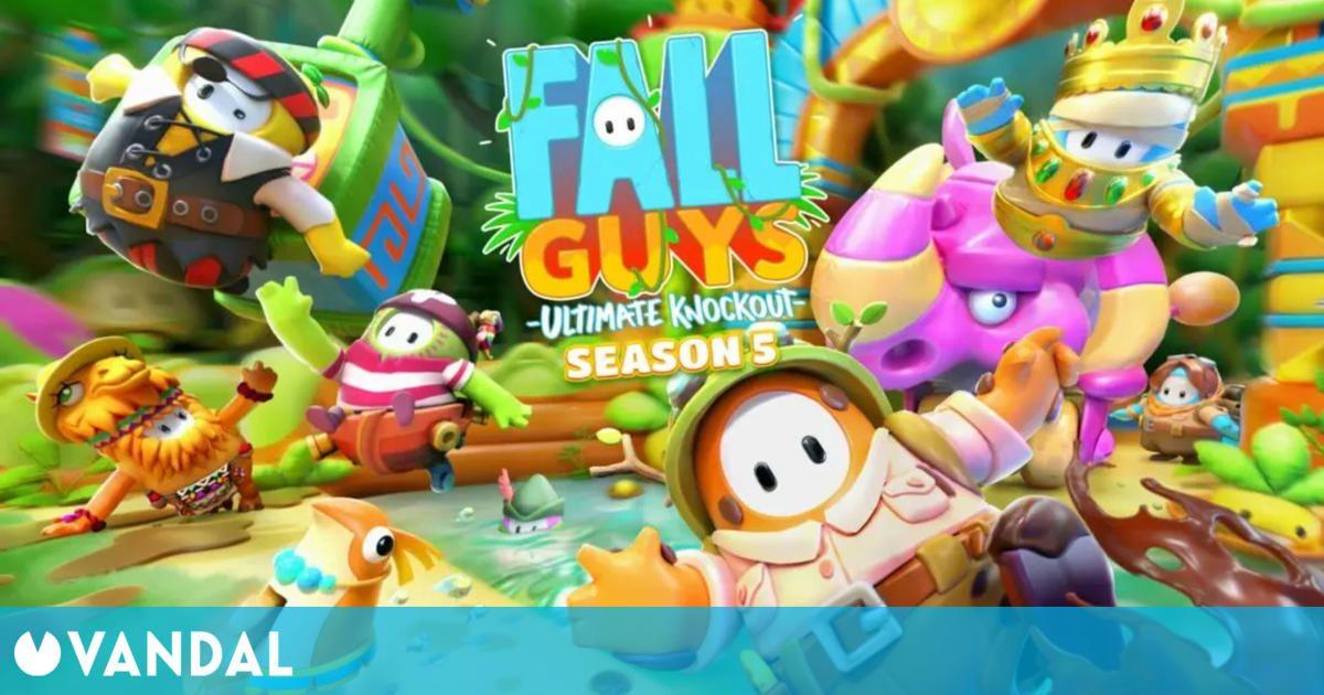 Fall Guys: Ultimate Knockout recibirá la Temporada 5 mañana mismo y desvela nuevo contenido
