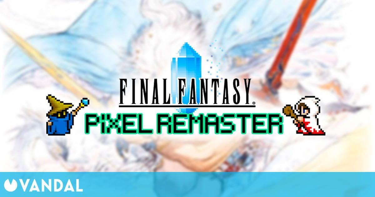 Final Fantasy Pixel Remaster podría llegar a nuevas plataformas si hay suficiente demanda