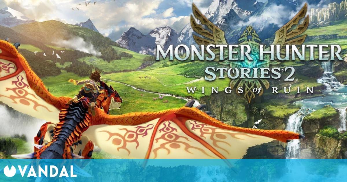 Monster Hunter Stories 2 para Switch debutó en España como el juego más vendido