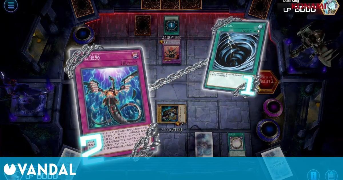 Yu-Gi-Oh! Master Duel llegará a PC, consolas y móviles con las reglas del TCG