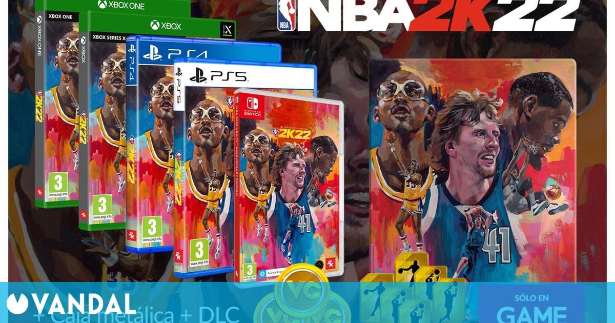Ya puedes reservar NBA 2K22 en GAME con un DLC exclusivo de regalo en todas sus ediciones