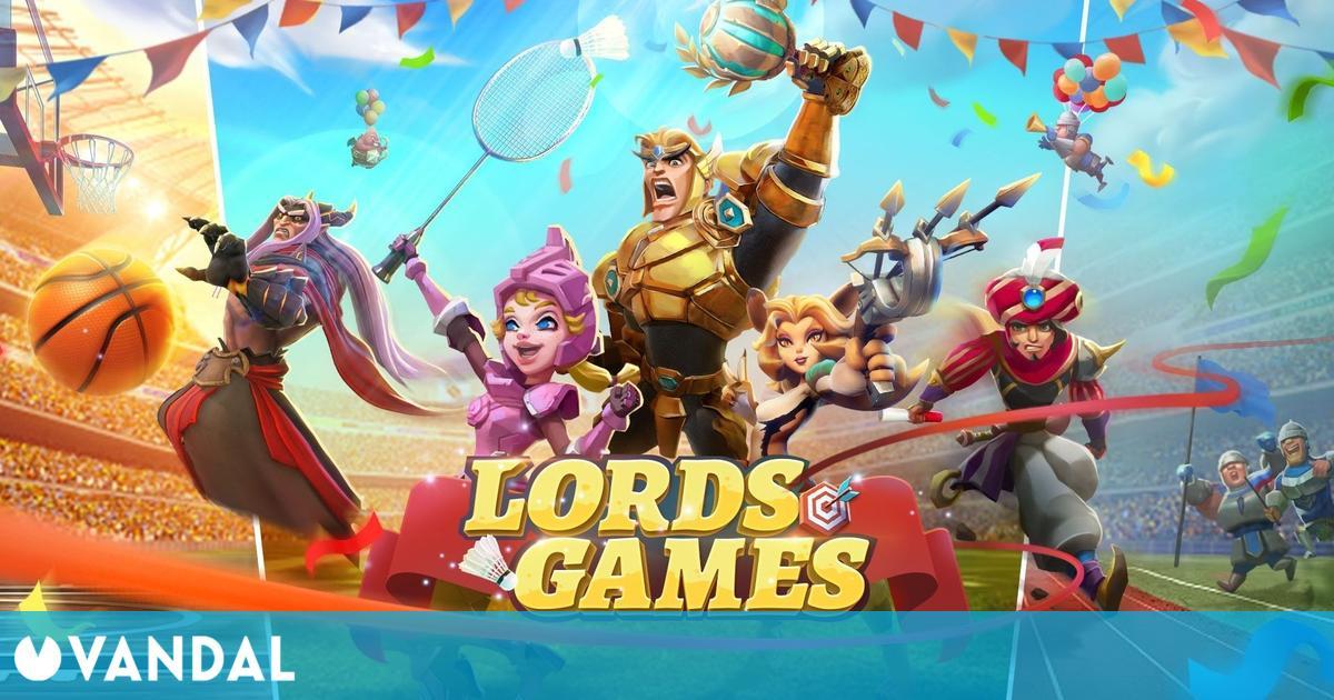 Lords Mobile celebra los Juegos Olímpicos con premios: teclados mecánicos, figuras y más