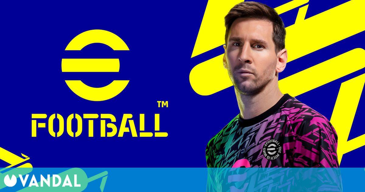 PES cambia su nombre a eFootball, un nuevo simulador de fútbol que llegará gratis en otoño