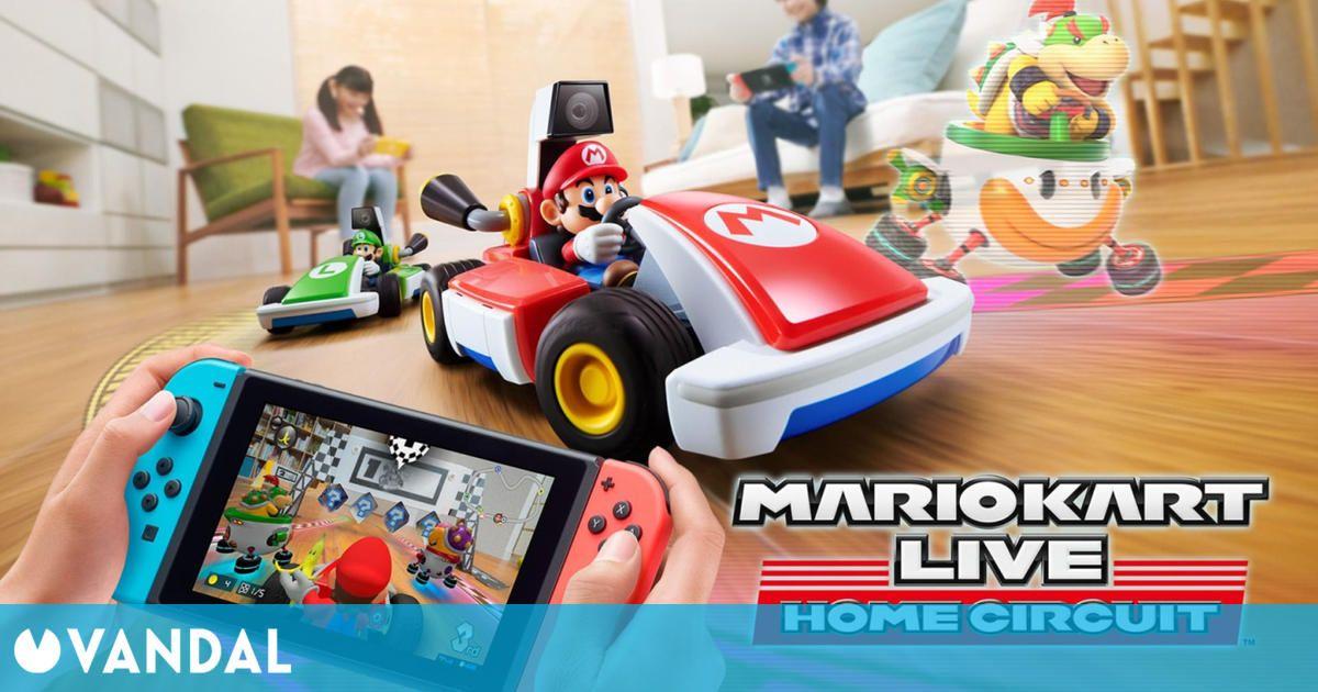 Mario Kart Live: Home Circuit se actualiza gratuitamente y agrega una nueva Copa Mario