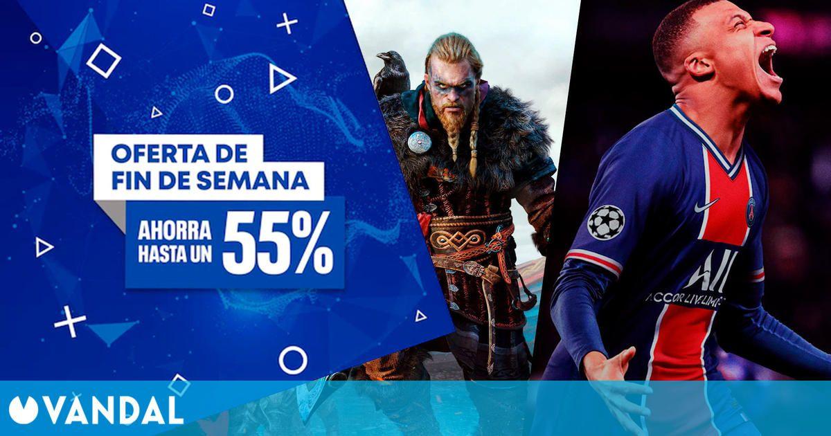 Ofertas fin de semana en PS Store: Assassin's Creed Valhalla, FIFA 21 y más