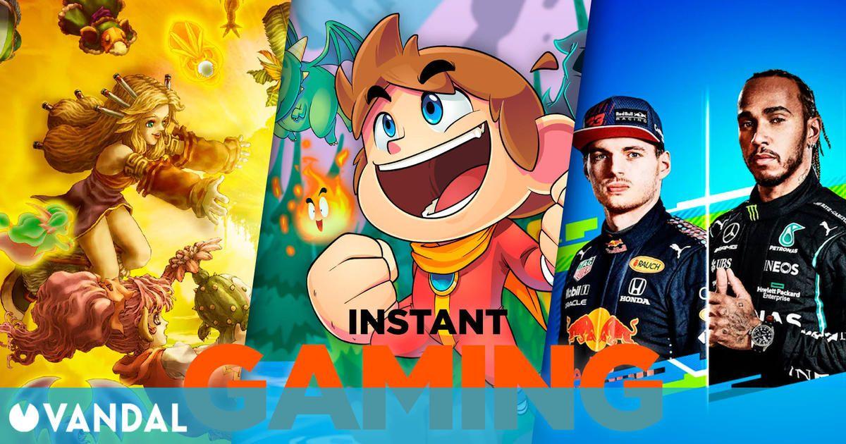 Las 10 mejores ofertas de juegos para PC en Instant Gaming el primer fin de semana de julio