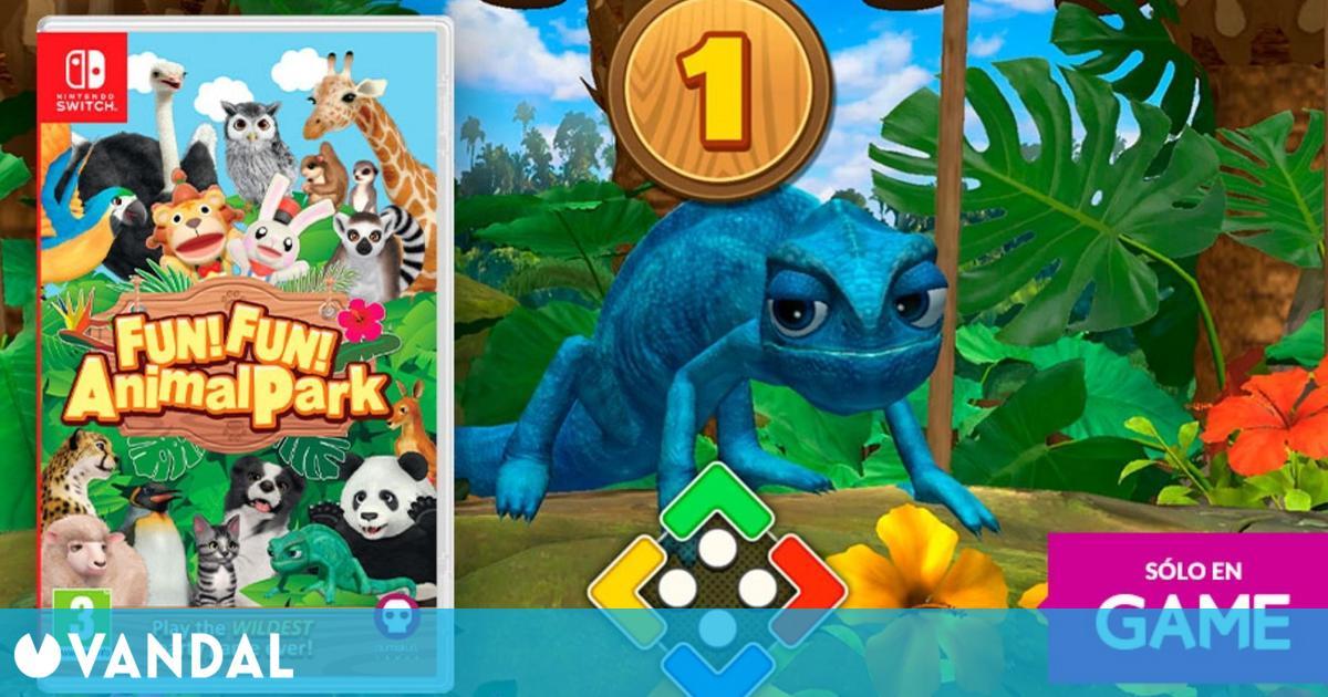 GAME abre las reservas de FUN! FUN! Animal Park en físico para Switch