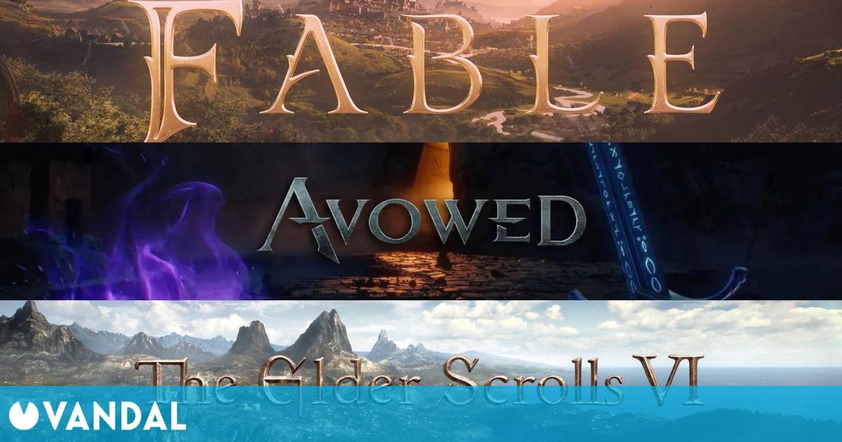 Avowed, Fable y The Elder Scrolls VI serán 'muy diferentes' entre sí, según Phil Spencer