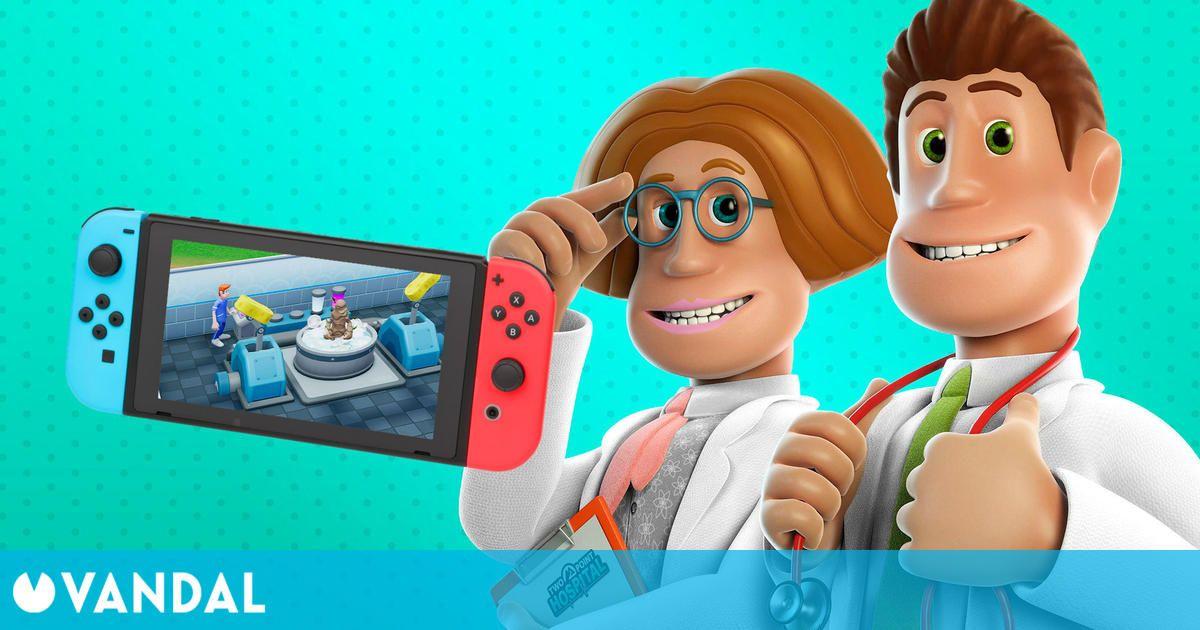 Two Point Hospital disponible gratis por tiempo limitado en Nintendo Switch para España