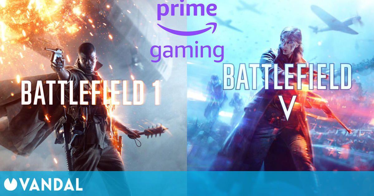 Battlefield 1 y Battlefield V para PC completamente gratuitos en Amazon Prime Gaming