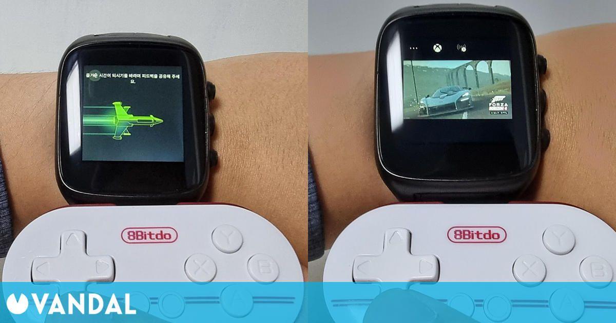 Consiguen jugar a Xbox Cloud Gaming desde un reloj inteligente