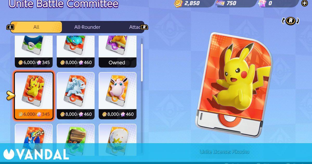 Pokémon UNITE: Cómo conseguir monedas Aeos rápidamente