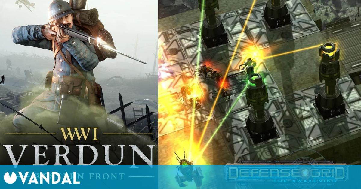 Verdun y Defense Grid ya disponible gratis en Epic Games Store