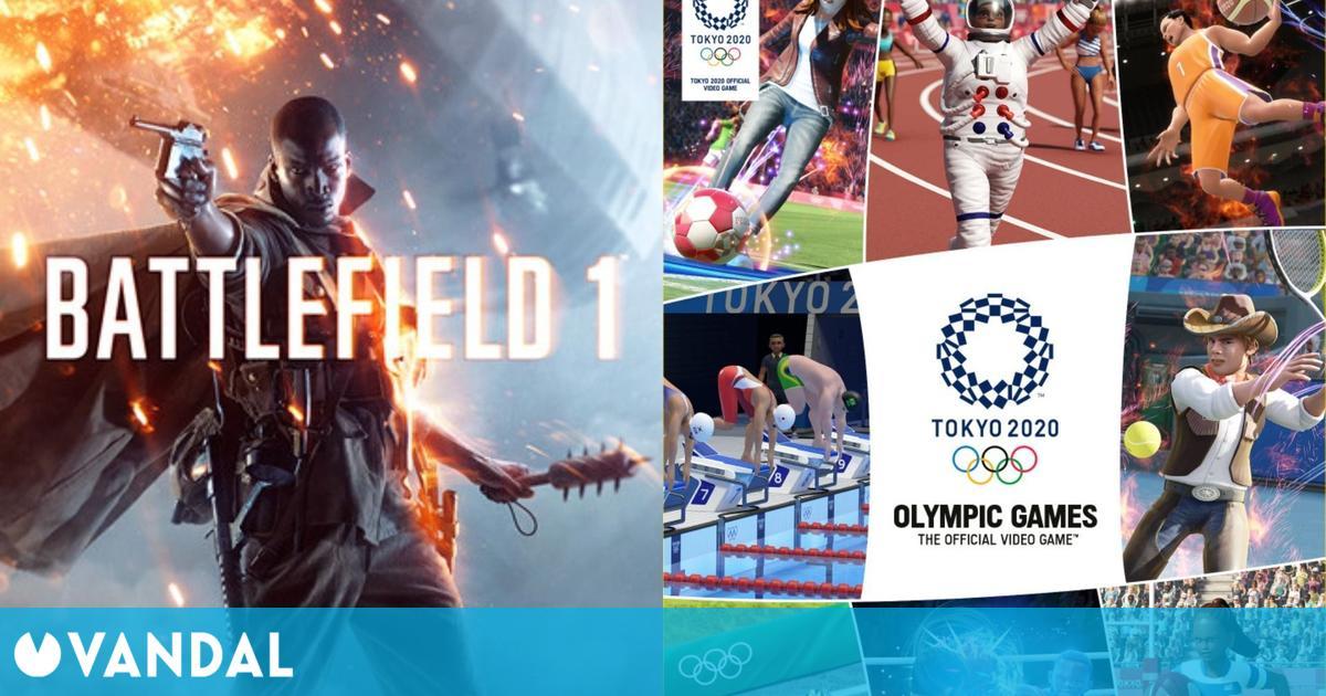 Juegos gratis y ofertas para este fin de semana: Battlefield 1, Juegos Olímpicos de Tokyo 2020