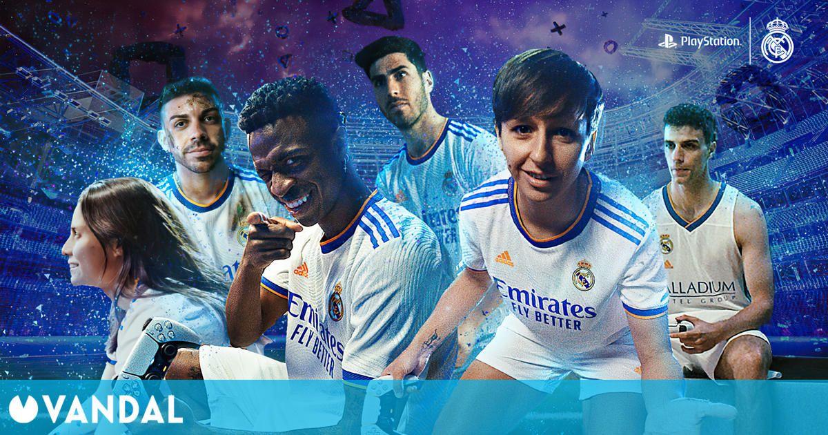 El Real Madrid y PlayStation España presentan 'Inmersión sin límites', un spot de PS5