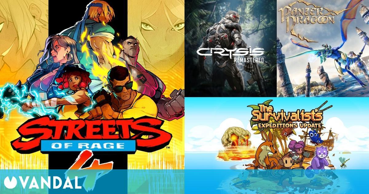 Ofertas Switch para este fin de semana: Streets of Rage 4, Crysis Remastered, Terraria…