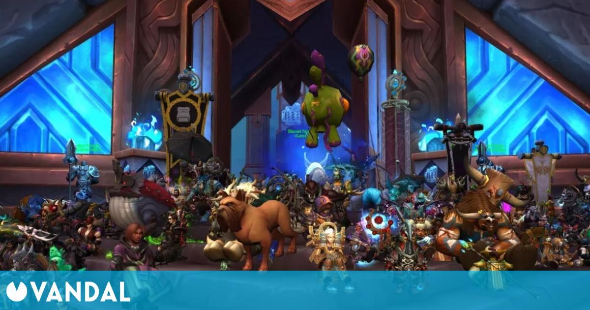 Los jugadores de World of Warcarft protestan contra Activision Blizzard en el propio juego