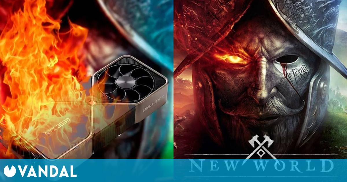 EVGA reemplazará las RTX 3090 que han 'muerto' ejecutando New World, el MMO de Amazon