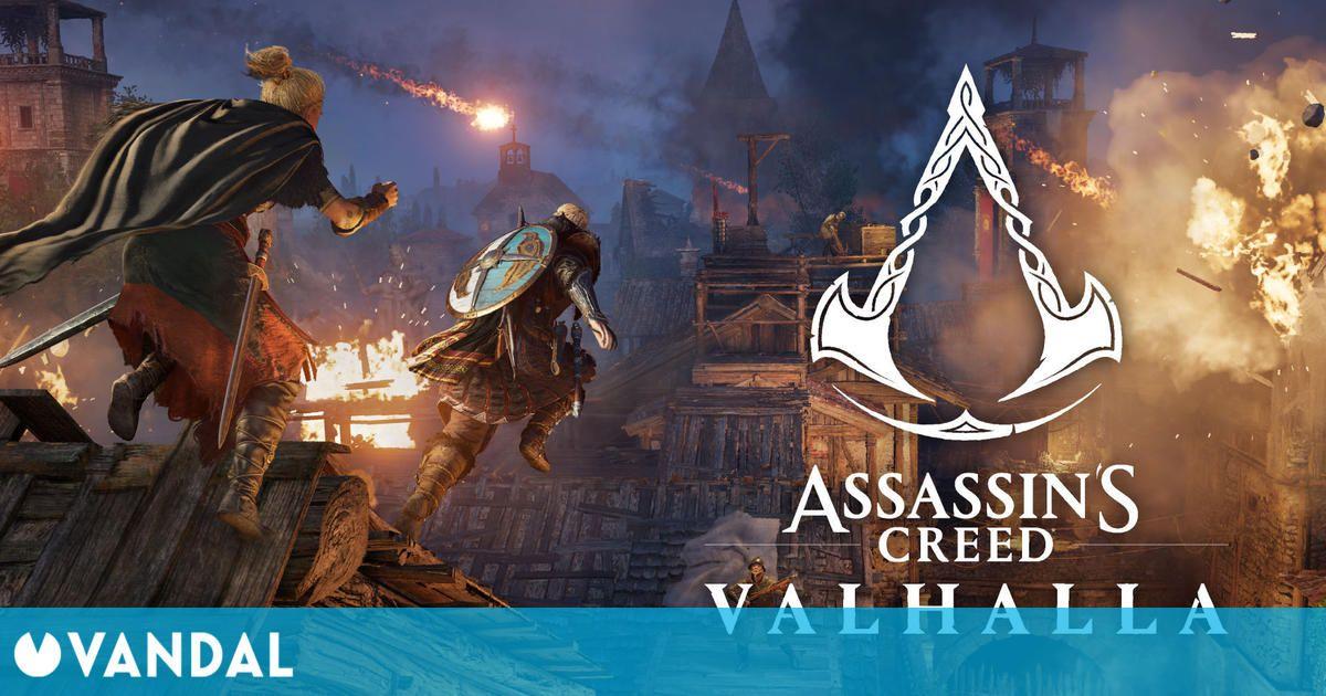 Assassin's Creed Valhalla recibirá El Asedio de París, su segunda expansión, el 12 de agosto