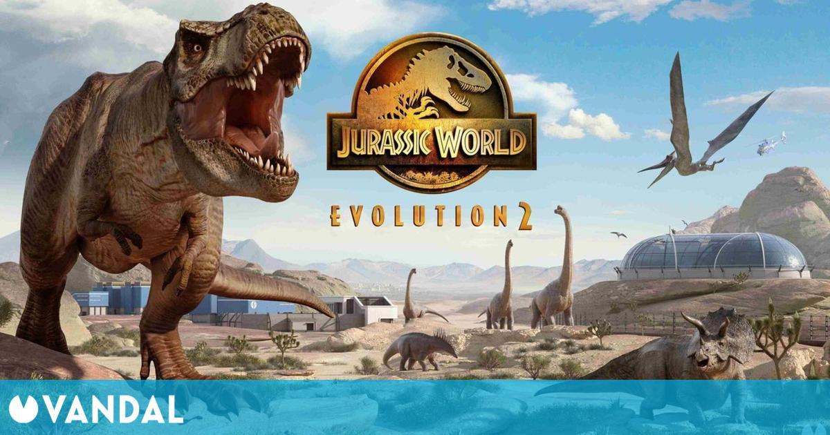 Jurassic World Evolution 2 detalla su mundo en su nuevo diario de desarrollo