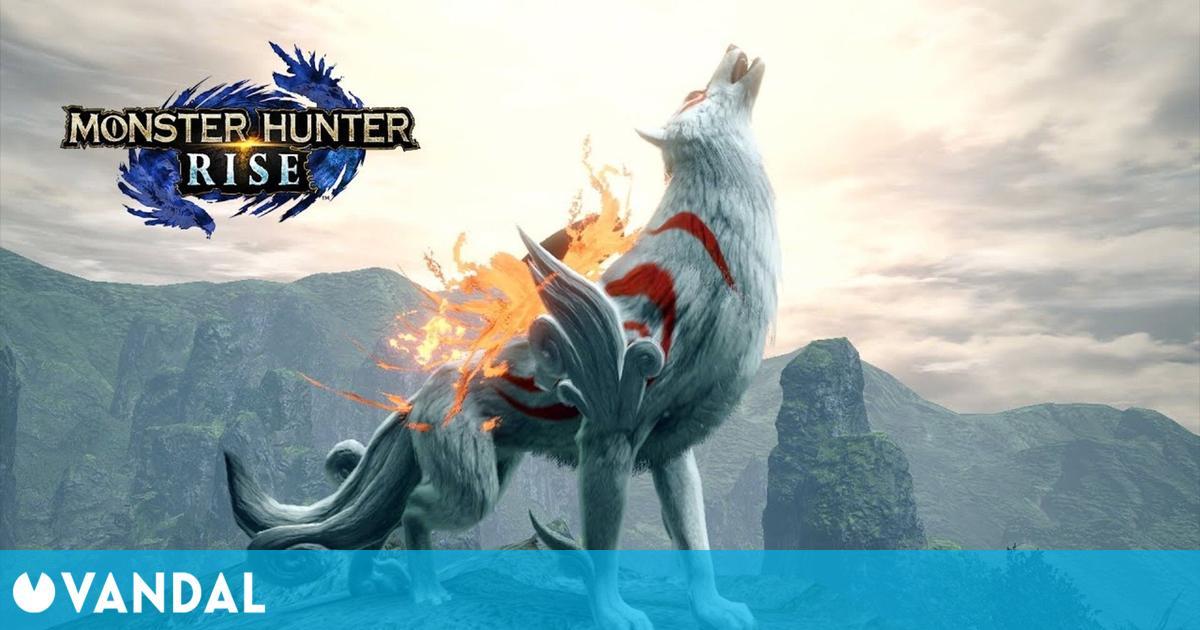 Monster Hunter Rise anuncia una colaboración con Okami para el 30 de julio