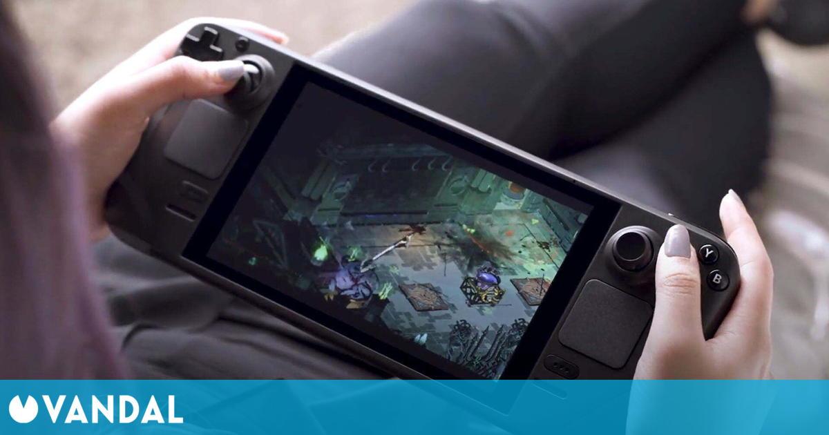 Nuevos vídeos de Steam Deck nos muestran la portátil de Valve en acción