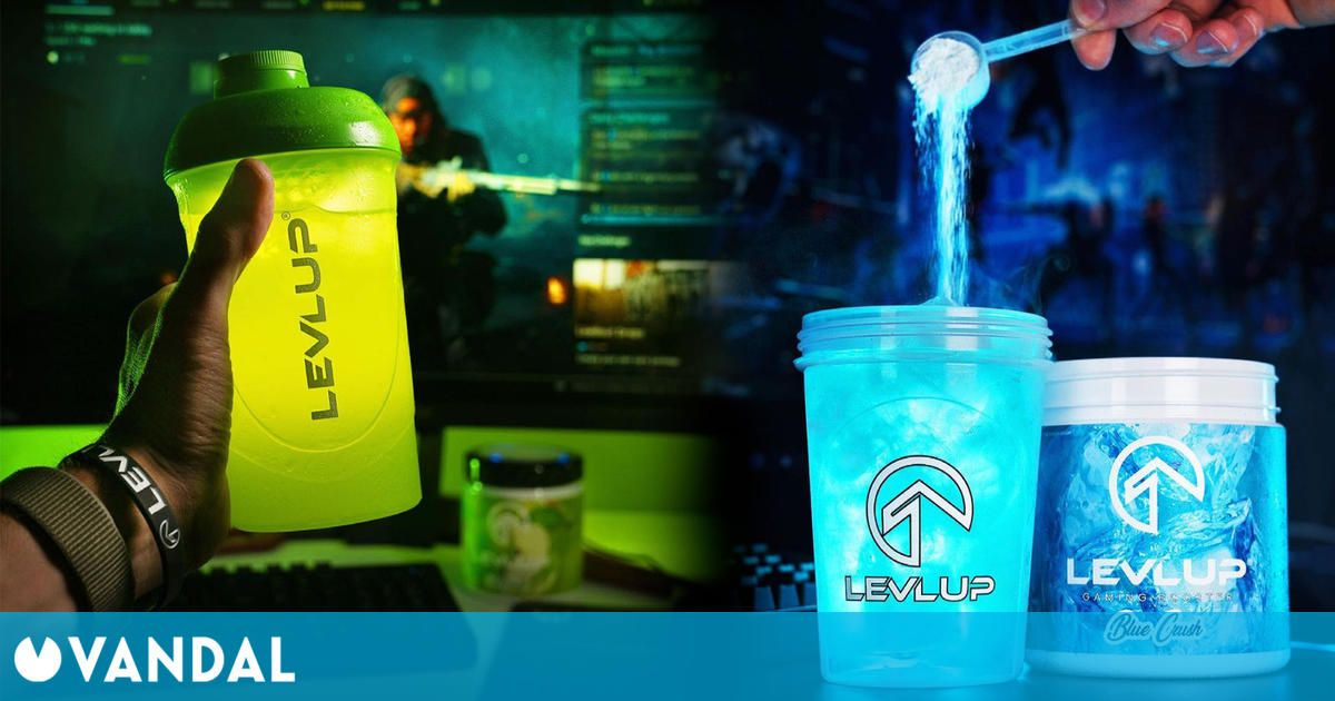 Así es LevlUp, la bebida energética para gamers: saludable, económica y con más de 25 sabores