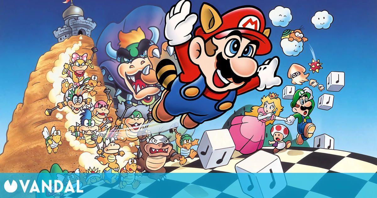 La edición especial de Super Mario Bros. 3 llega por sorpresa a Nintendo Switch Online