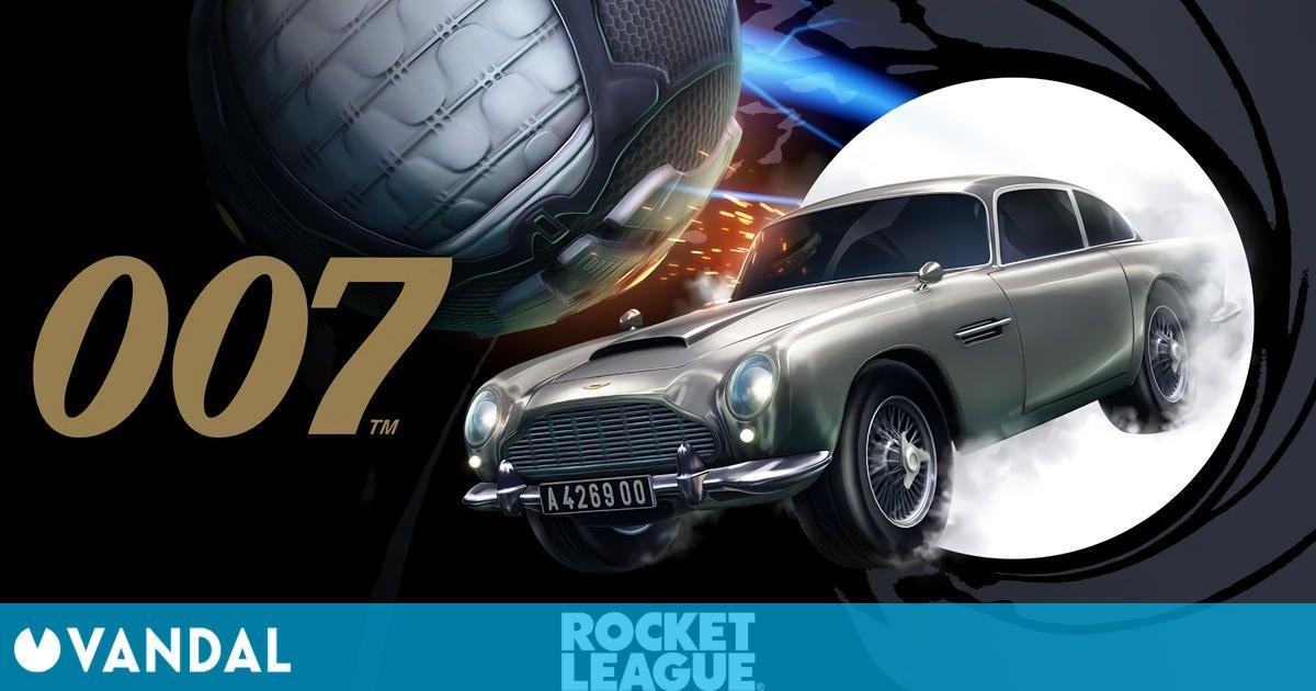 Rocket League: El Aston Martin DB5 de James Bond llega a la tienda del juego