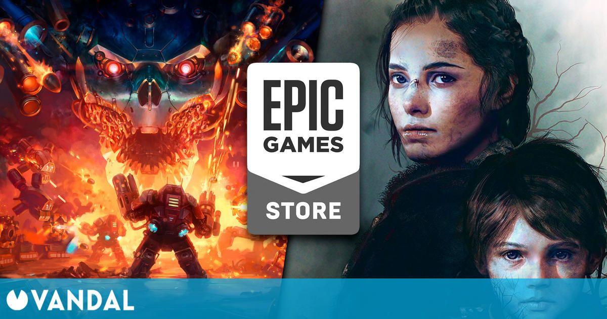 Ya disponibles los juegos gratis de Epic Games Store; A Plague Tale la próxima semana