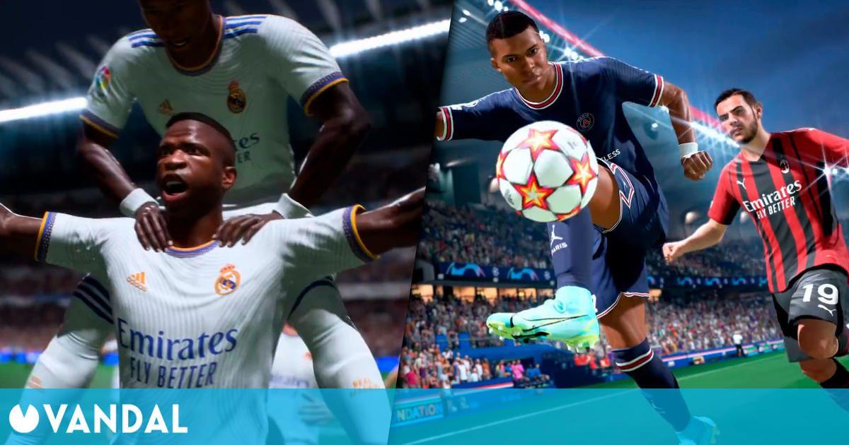 FIFA 22 muestra su renovada jugabilidad por primera vez en un extenso gameplay
