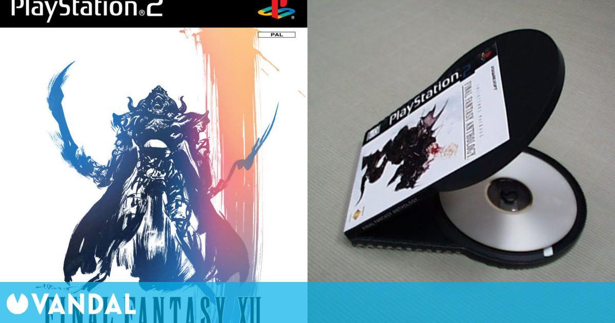 Así es el llamativo prototipo descartado de las cajas para PlayStation 2