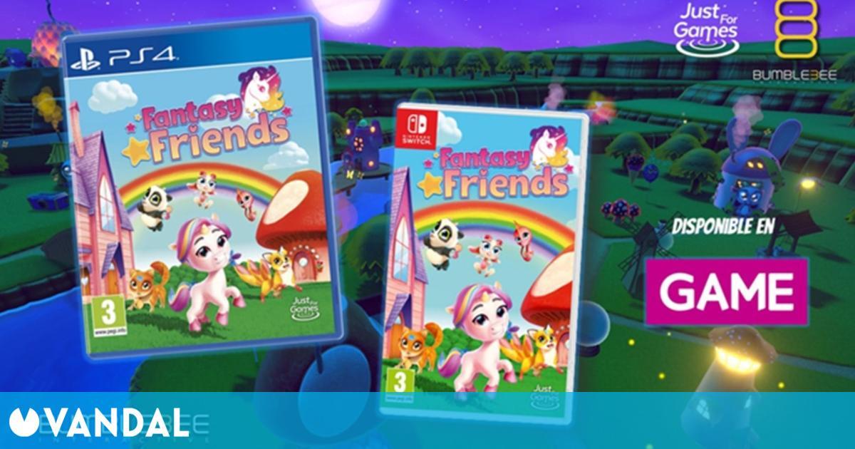 Fantasy Friends ya está disponible en formato físico en exclusiva en GAME