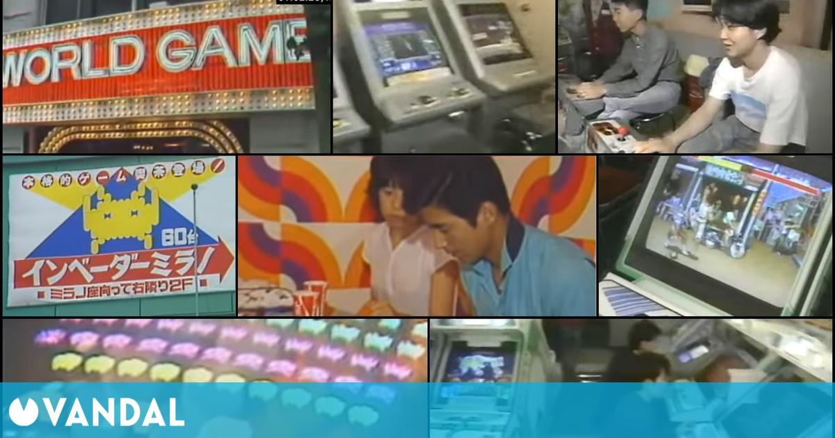 Estos vídeos nos permiten viajar a los salones arcade de Japón en 1979 y 1992