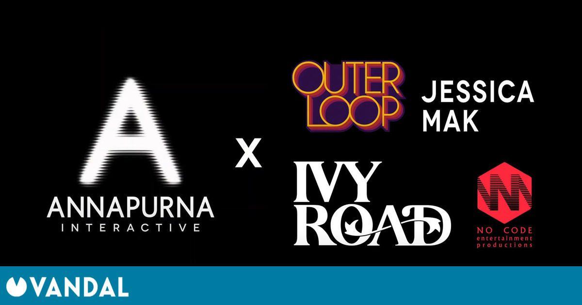 Annapurna Interactive editará los juegos de Outerloop Games, Jessica Mak, Ivy Road y No Code