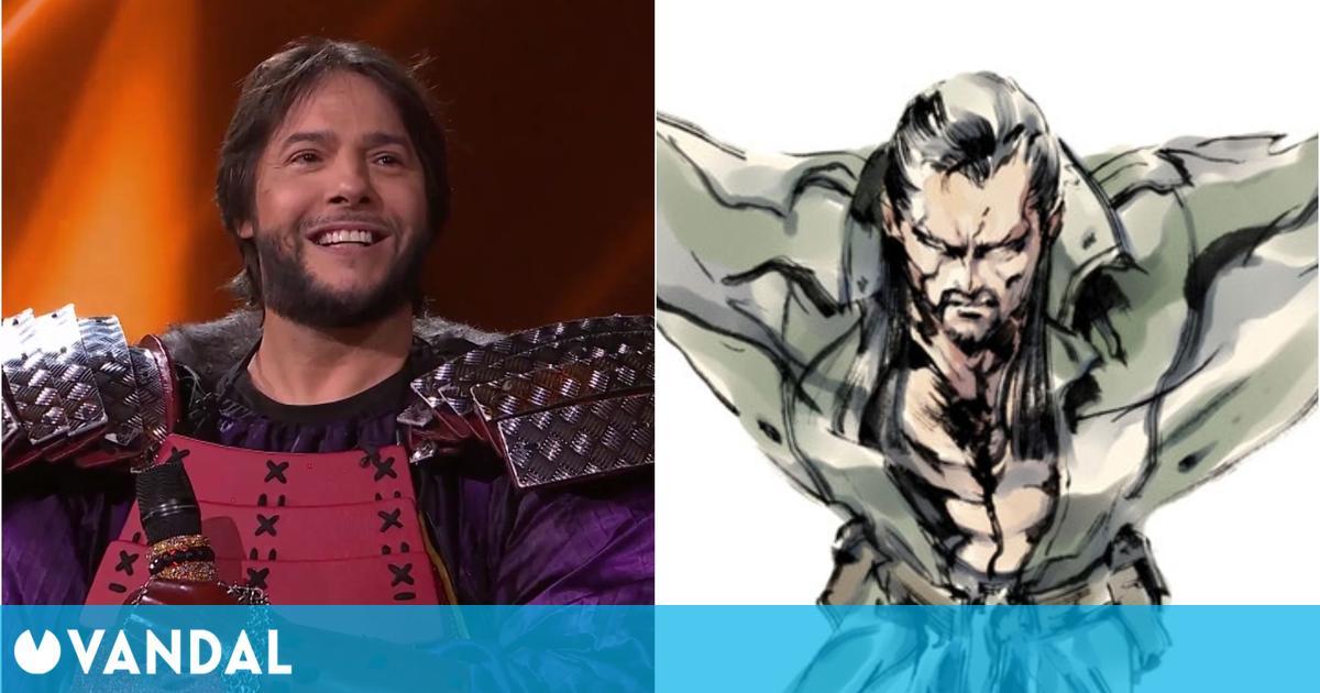 Joaquín Cortés revela en Mask Singer que Vamp de Metal Gear se inspiró en él