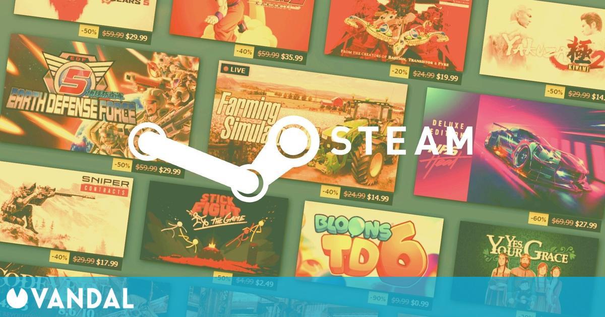 La Beta del cliente de Steam renueva la página del almacenamiento y de descargas