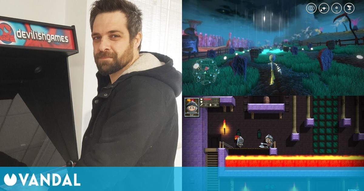 David Ferriz cuenta cómo es trabajar en dos vertientes diferentes de los videojuegos