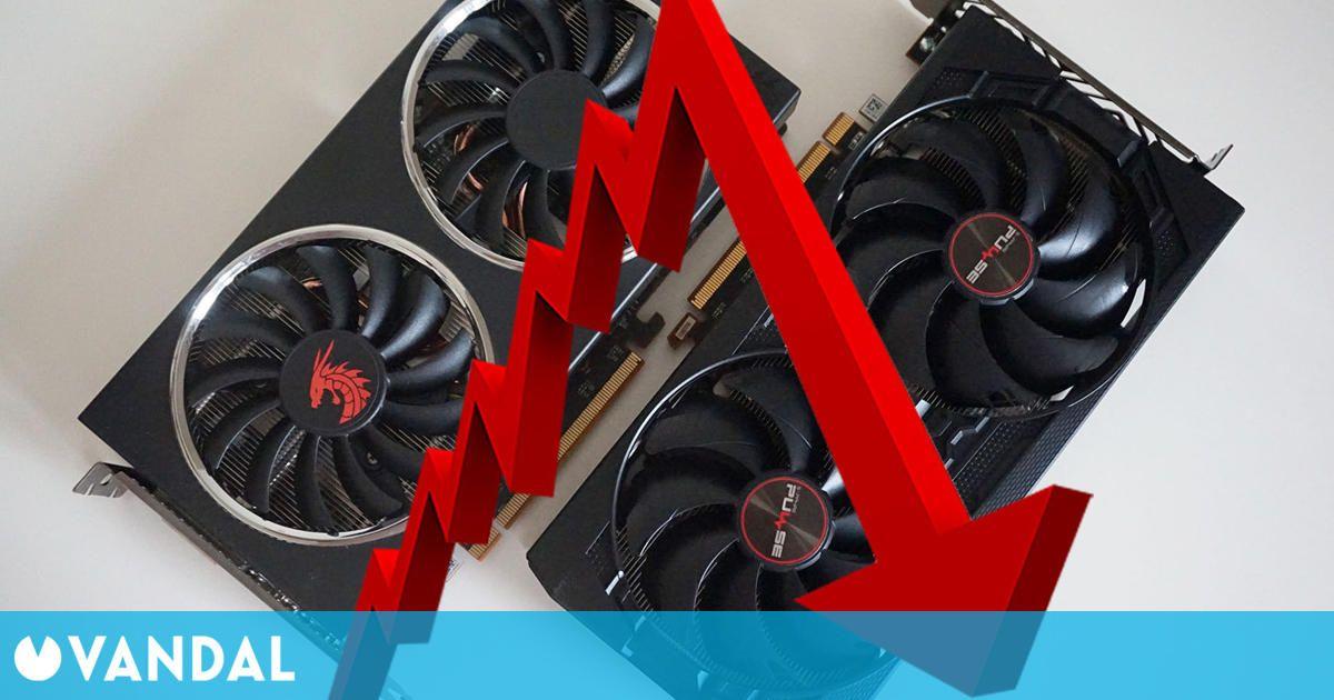 El precio de las gráficas de NVIDIA y AMD sigue cayendo en julio, ¿El fin del drama?