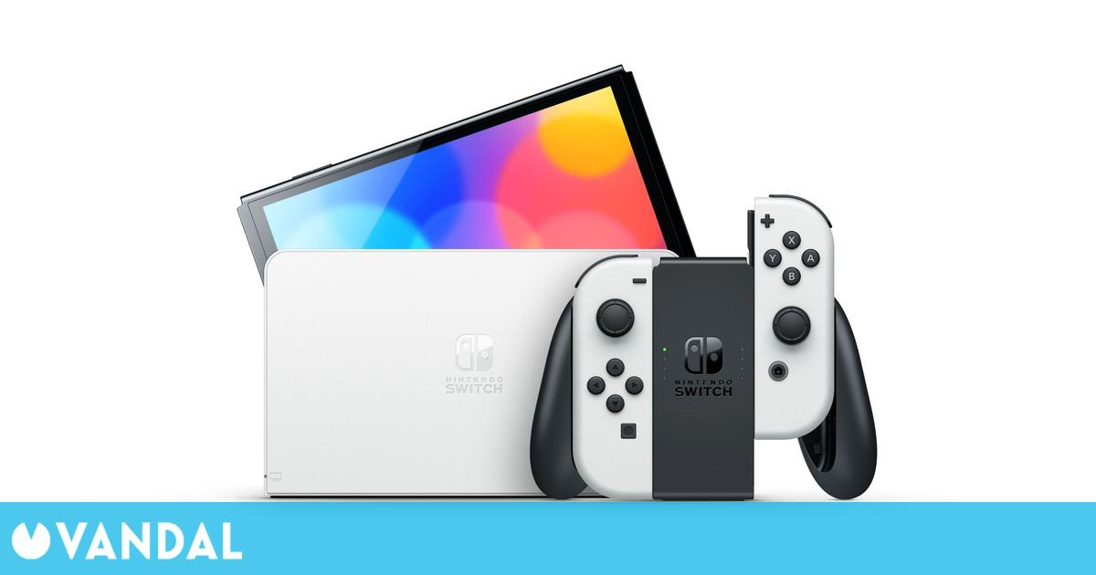 Anunciada Nintendo Switch OLED con pantalla más grande, sonido mejorado, más memoria…