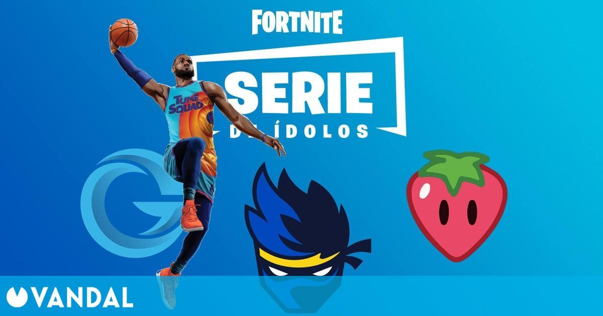 Fortnite: La skin de LeBron James llegará al juego como parte de la Serie de Ídolos