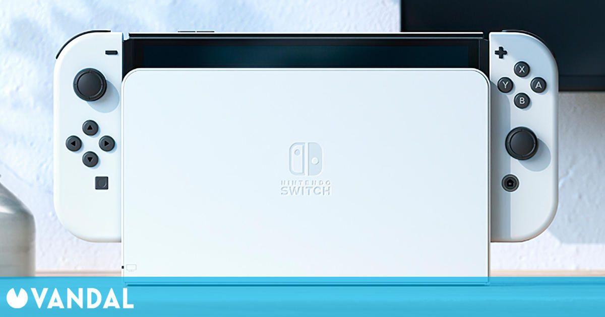 El nuevo 'dock' de Nintendo Switch OLED se podrá adquirir de manera independiente