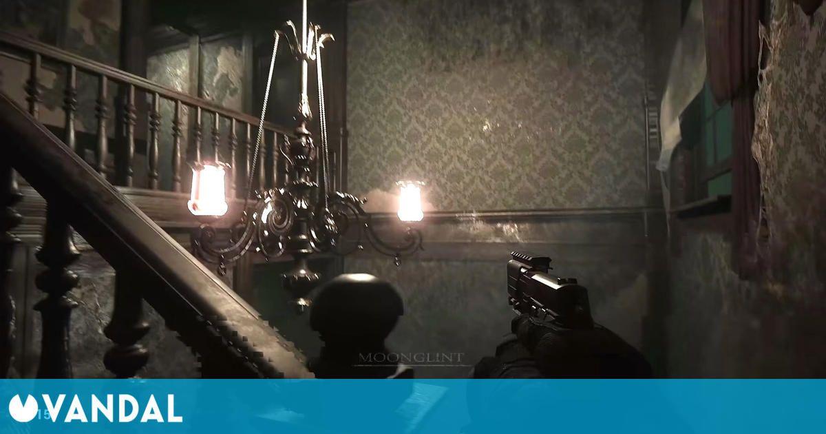 Resident Evil HD Remaster es recreado en primera persona para PC con Unreal Engine 4