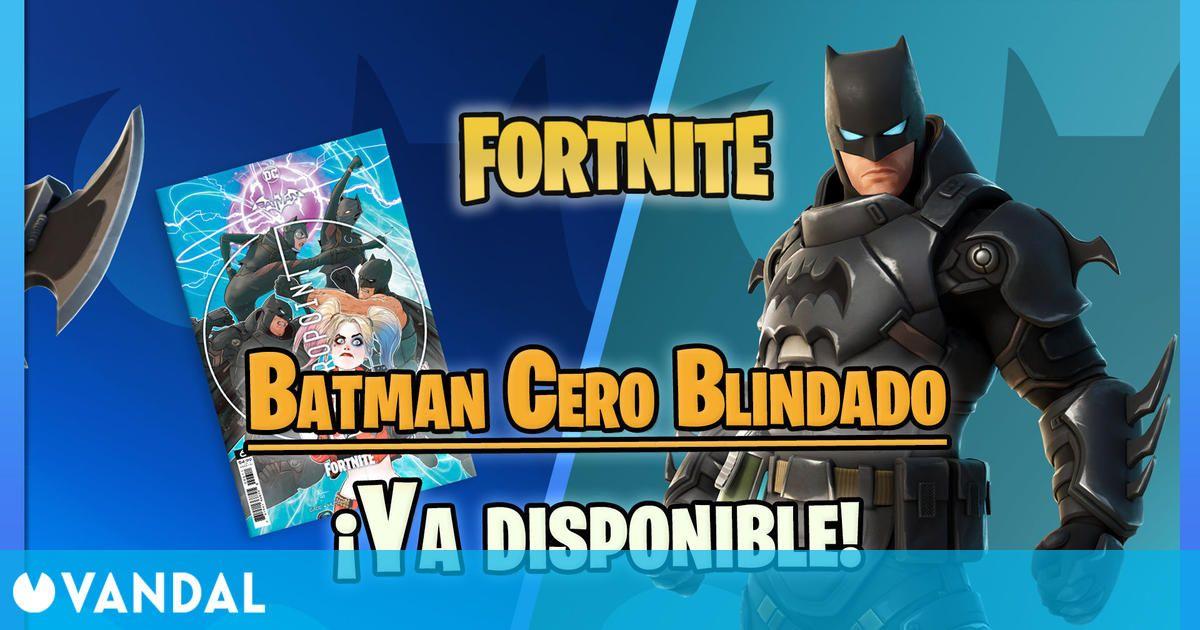 Fortnite lanza la skin de Batman Cero Blindado en la tienda – Precios y contenidos