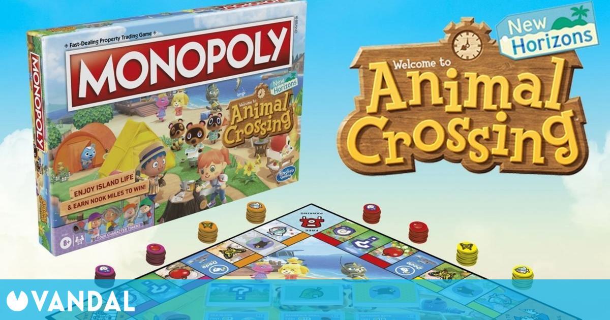 Animal Crossing: New Horizons tendrá un Monopoly oficial en agosto