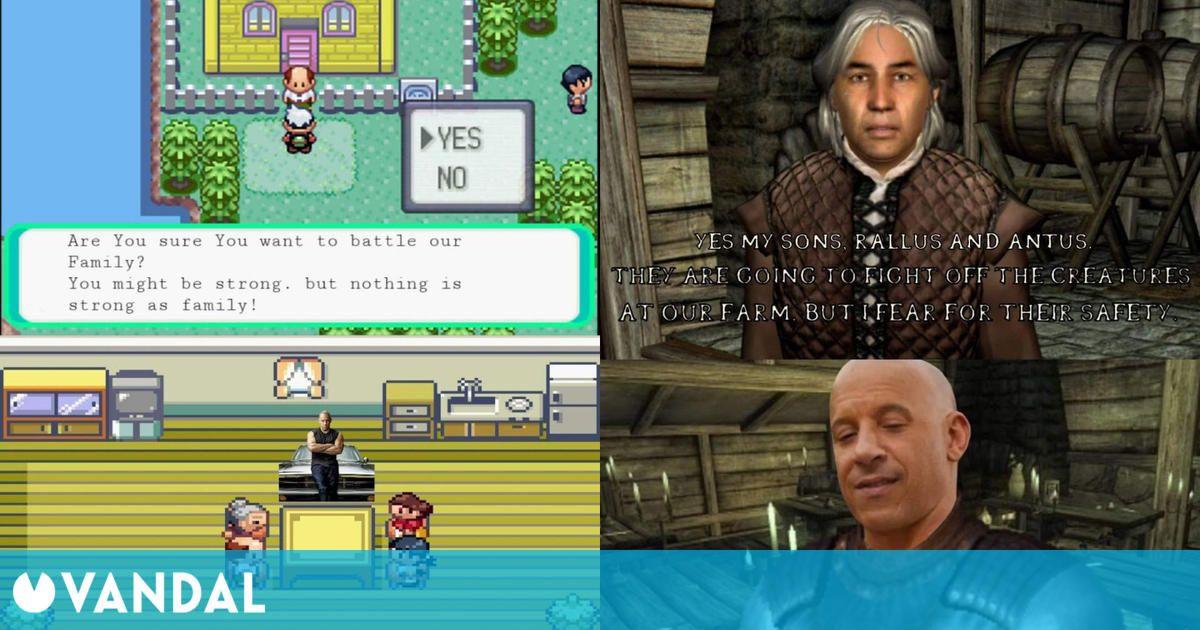 El famoso meme de Fast & Furious y la familia llega también a los videojuegos