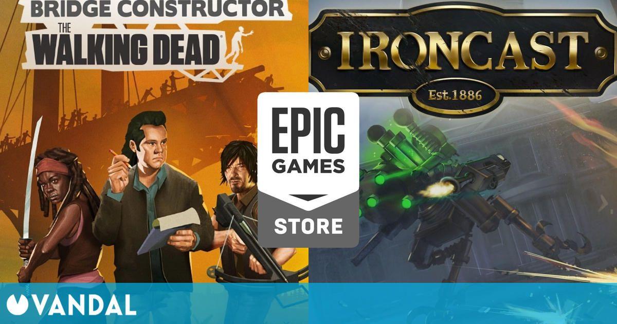 Ironcast y Bridge Constructor: The Walking Dead disponibles gratis en Epic Games Store