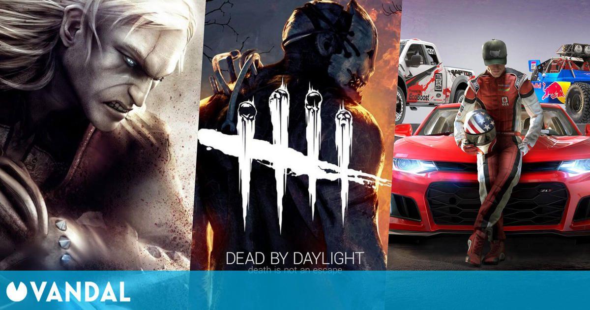 Juegos gratis y ofertas de este fin de semana: Dead by Daylight, The Witcher y más